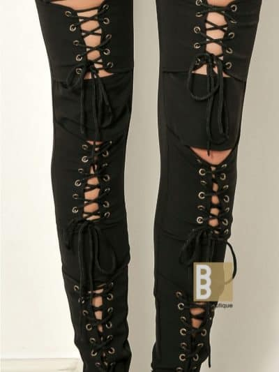 pantaloni cu snur, pantaloni sexy, pantaloni dama