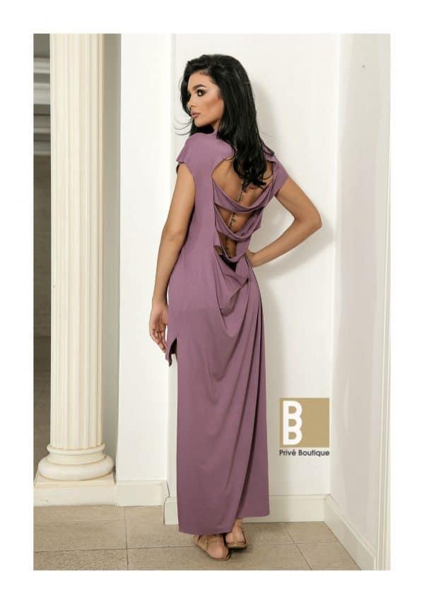 rochie asimetrica, rochie cu spate taiat, rochie asimetrica taiata