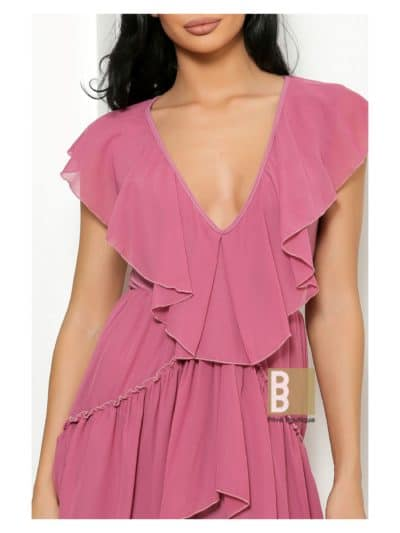 rochie voal, rochie lycra si voal, rochie de zi, rochie lejera, rochie decoltata, rochie sexy