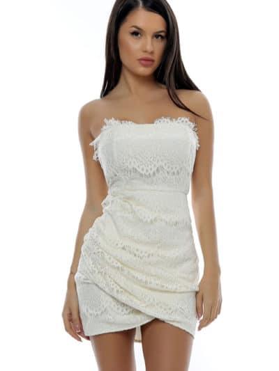 rochie alba de ocazie, rochie de botez, rochie de ocazie, rochie scurta, rochie mulata, rochie sexy