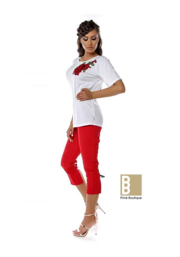 tricou flori, tricou sexy, tricou simplu, tricou dama