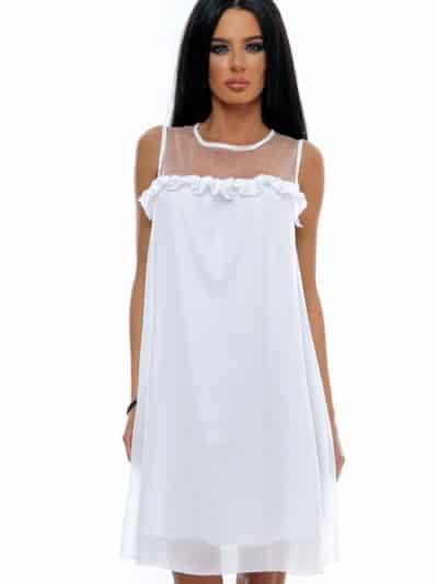 Rochie white angel