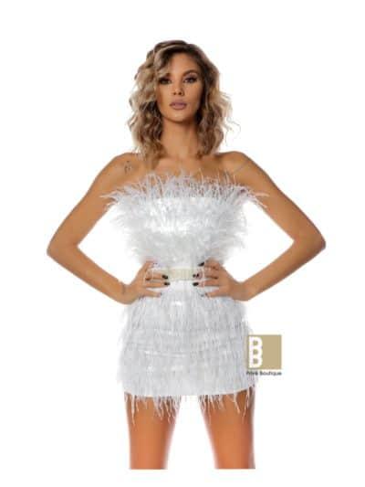 White Diva Dress